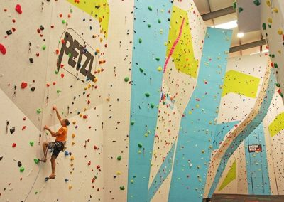 Awesome Walls Dublin Multifaceted Climbing Wall