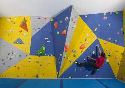 Rockworks Multi-Faceted Bouldering Wall