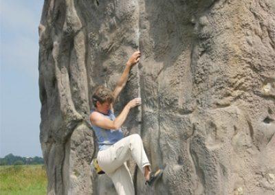 Summerhill Concrete Climbing Boulders