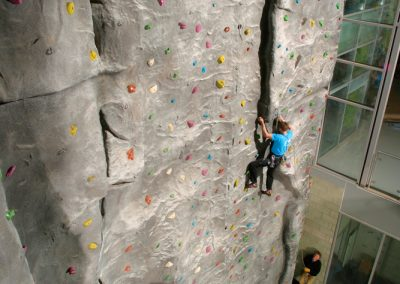 Rockworks Robert Gordon University Realform Climbing Wall