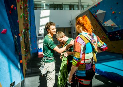 University of Nottingham Multifaceted Climbing Wall