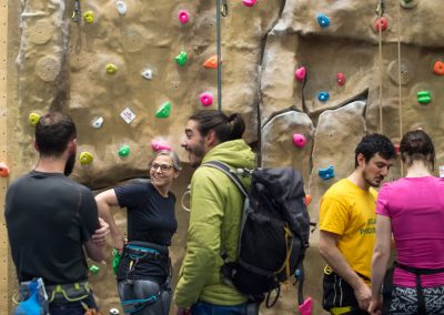University of Nottingham Realform Climbing Wall