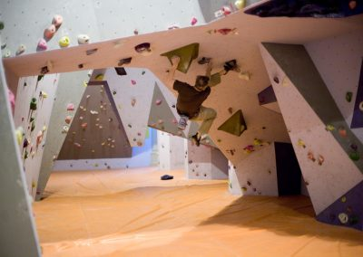 Newcastle Climbing Centre Bouldering Wall