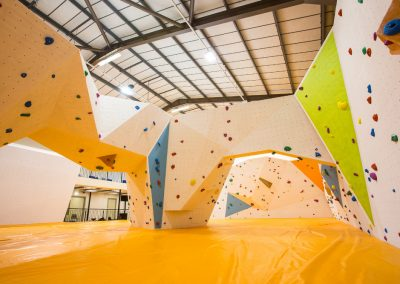 Rockworks Multifaceted Bouldering Wall