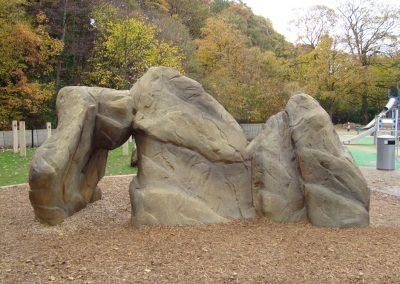Rockworks Playground Climbing Boulder
