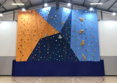 Dene School Climbing Wall