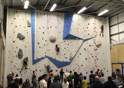 School Climbing Wall