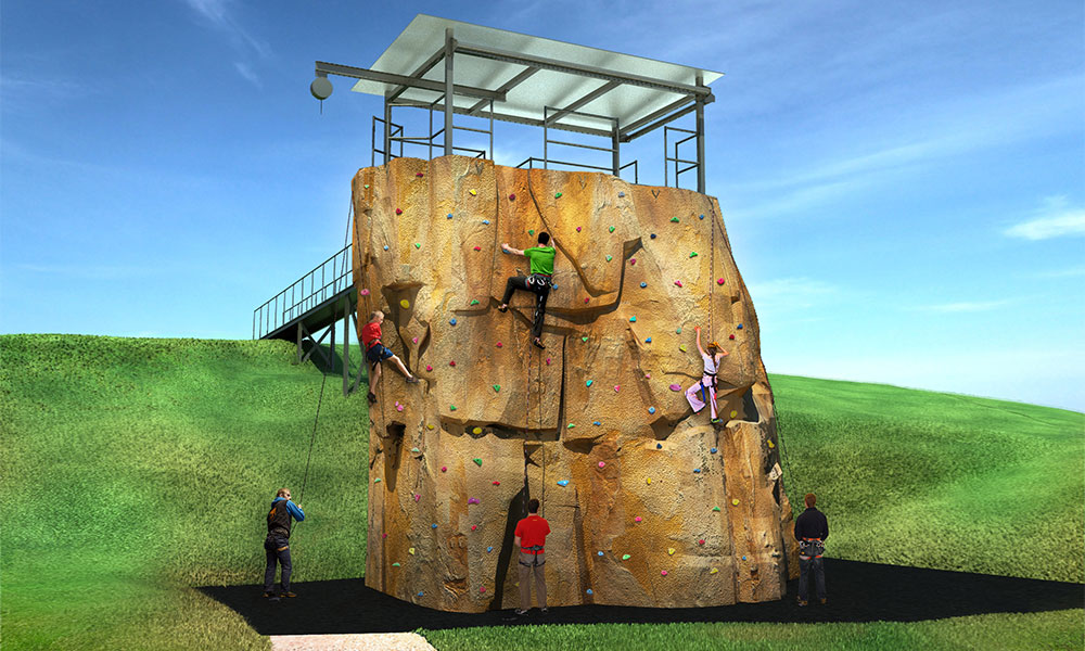 Portland College – Multi Activity Climbing Tower